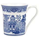 Queens Churchill China Blue - Taza, color azul