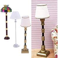 Baoblaze 1:12 Puppenhaus Beleuchtung Miniatur Tulpenform LED