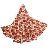 Yummy Pizza Adult Tunika Hooded Knight Halloween Mantel Robe Kostüm Weihnachten, 59Inch (150,40Cm)