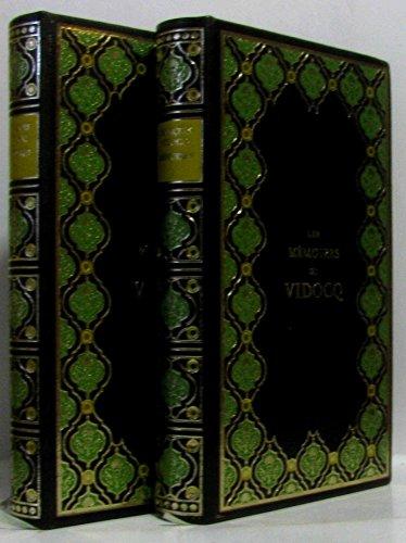 Mémoires de vidocq en 2 volumes par Vidocq