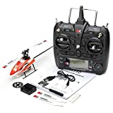 Househome Helicóptero RC, XK K110 Explosion 6CH Brushless 3D6G System RC Hubschrauber RTF