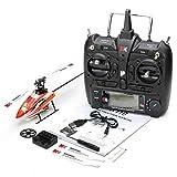 Kinder Fernbedienung Hubschrauber Spielzeug,XK K110 Blast 6CH Brushless 3D6G System RC Helicopter RTF