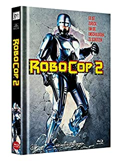 RoboCop 2 - 2-Disc Limited Collector's Edition - Uncut - Mediabook, Cover A (+ DVD) [Blu-ray]
