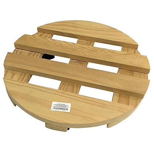 Holz Pflanzenroller rund Ø35cm