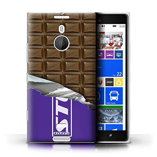 Kobalt® Imprimé Etui / Coque pour Nokia Lumia 1520 / Blocs Dairy Milk conception / Série Chocolat Blocs Dairy Milk