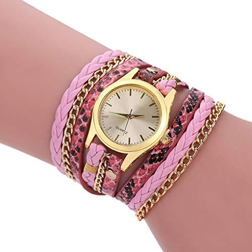 Windy5-Serpentine-Muster-Bgel-Dame-Armband-Uhr-beilufigen-Frauen-Quarz-Armbanduhr-Wrist-Dekoration