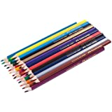 Faber-Castell Triangular Colour Pencils - Pack of 24 (Assorted)