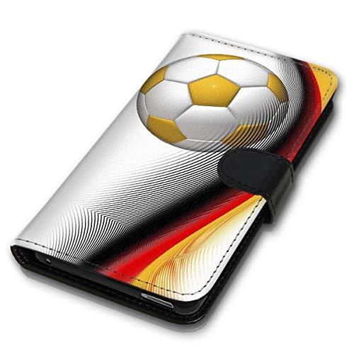 klocktec Book Flip Handy Tasche Case Schutzhülle für Samsung Galaxy A40 - AM3 (MVB-101)