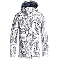 Roxy Jetty – Chaqueta Polar para Mujer, Mujer, Color Blanco Claro, tamaño Medium