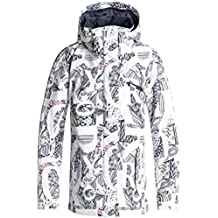 Roxy Jetty – Chaqueta Polar para Mujer, Mujer, Color Blanco Claro, ...