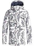 Roxy Jetty–Chaqueta Polar para Mujer, Mujer, Color Blanco Claro, tamaño Medium