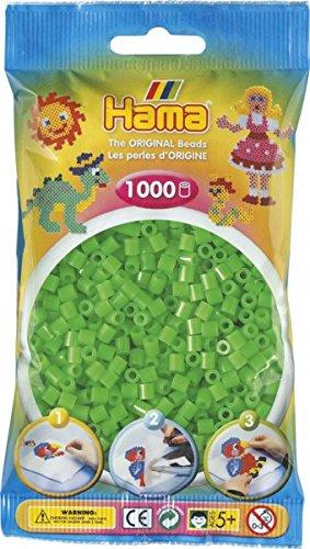 hama-beutel-mit-1000-bugelperlen-fluor-grun