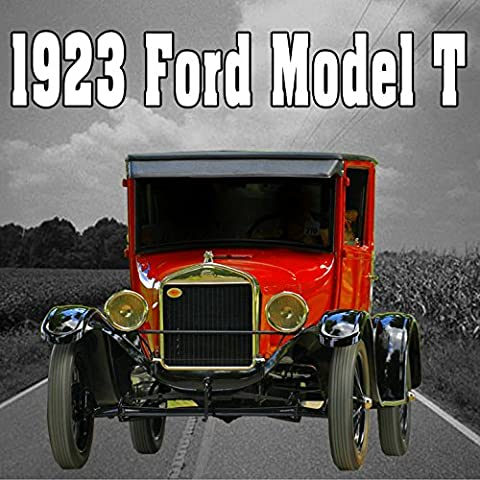 1923 Ford Model T, Internal Perspective: Crank Starts, Idles & Shuts Off