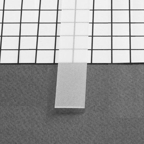 raureife diffuse Blende-T-E-14, 2m, für alu Profil CABI-T-12