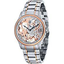 Thomas Earnshaw Bauer mechanical - Reloj para hombre, color oro / plata