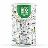 Big Greens Superfood Pulver | 600 g | 28 Superfoods harmonische kombiniert wie Gerstengras, OPC, Acerola, Reishi, Chlorella | vegan, ohne Laktose & Soja | HERGESTELLT IN DEUTSCHLAND | 1-Monatsvorrat