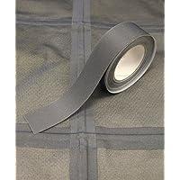 Nastro sigillante T-2000XHot Melt a 3strati, impermeabile, 5m x 22 mm, da applicare con il ferro da stiro, grigio scuro