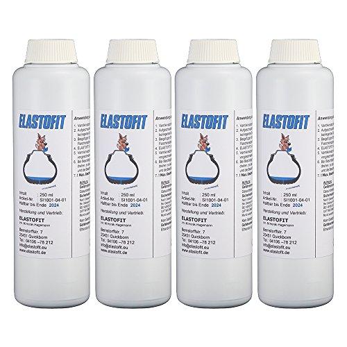 Elastofit SI1001-04-17 Reifendichtmittel 4 x 250 ml