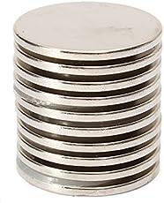 HITSAN INCORPORATION 10PCS 25x2mm N35 Strong Round Rare Earth Neodymium Magnet