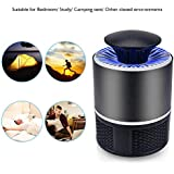 MixenC205 Bug Zapper Indoor Mosquito Killer Lamp Insect Killer Safe USB Powered Mosquito Zapper with Built in Fan Insect Trap for Indoor Bedroom Kitchen Outdoor Garden Office (Egg Shape)_Multi-C205