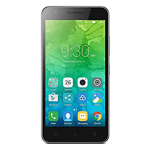 Lenovo PA450166PL/K10a40 C2 Power Smartphone (LTE Dual SIM, 16GB Speicher, 2GB RAM, Android 6.0, 12,7 cm (5 Zoll)) schwarz