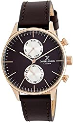 Daniel Klein Analog Brown Dial Mens Watch - DK11612-6