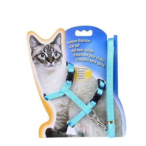 Verstellbares Geschirr für Katzen mit Katze Leine