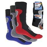 6 Paar Herren Thermo Socken Vollfrottee-39-42 - 2
