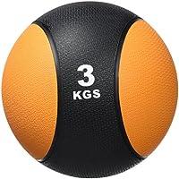 GORILLA SPORTS® Medizinball Gummi 1-10 kg – Fitnessball Einzeln/Set in 10 Farb- und Gewichtsvarianten