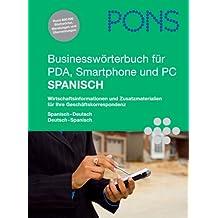 PONS Businesswörterbuch für PDA, Smartphone und PC Spanisch