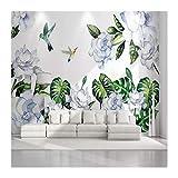 Best Whole House Worlds Bird Houses - YUANLINGWEI Custom Mural Wallpaper Tropical Plants Flowers Review