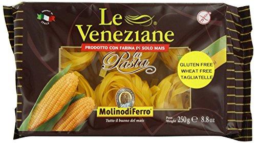 Le Veneziane Gluten Free Tagliatelle 250 g (Pack of 4)