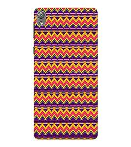 EPICCASE ethnic pattern Mobile Back Case Cover For Sony E5 (Designer Case)