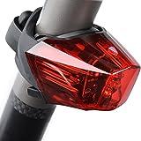 ONEU Fahrrad Rücklicht,Easydo STVZO Ultra Hell LED USB Aufladbar Wasserdichte mit 3 Hellen, Fahrradlicht/Fahrradbeleuchtung/Fahrradlampe/Fahrradrücklicht/Fahrradhelme Lichter Wasserdicht IPX4
