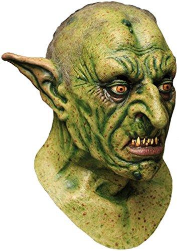 Gnome-Maske für Erwachsene Deluxe grüne ()