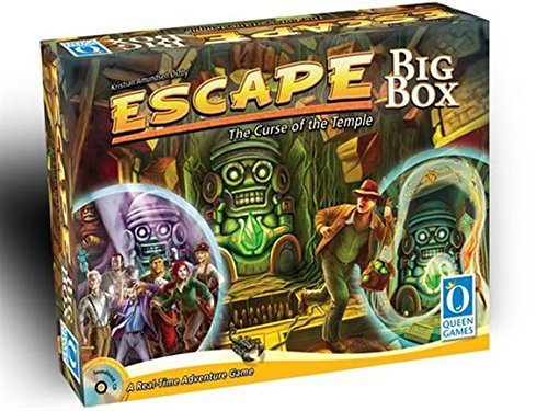 Escape: The Curse of the Temple Big Box by Queen Games