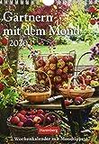 Gärtnern mit dem Mond Wochenkalender. Wandkalender 2020. Wochenkalendarium. Spiralbindung. Format 16,5 x 23 cm - Victoria von Thalberg
