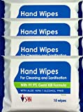 #5: SHI Hand Wipes pack of 60 wipes (15 wipes x 4 packets) (60 Pieces)