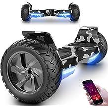 Markboard Gyropode Bluetooth MX8 Hummer 8.5 Pouces, Balance Board SUV Tout-Terrain 700W, Fonction App, Bluetooth et LED, Smart Scooter Électrique Auto-équilibrage