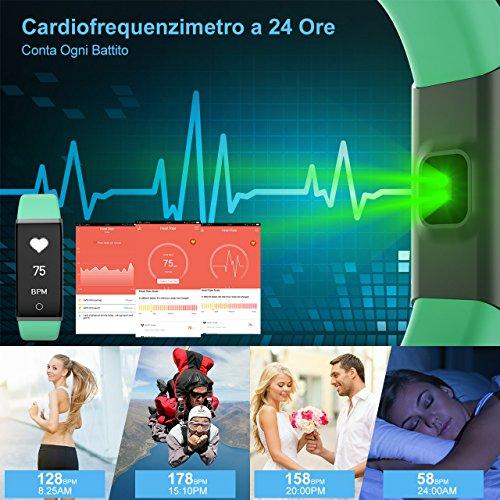 Zoom IMG-2 mpow fitness tracker ip67 orologio