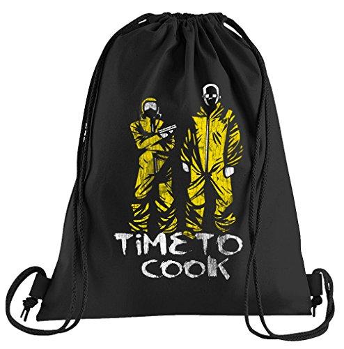 Touchlines Time to Cook Sportbeutel – Bedruckter Turnbeutel mit ()