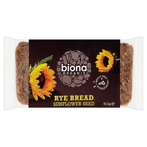 Biona, Seigle avec graines organiques de tournesol 500g