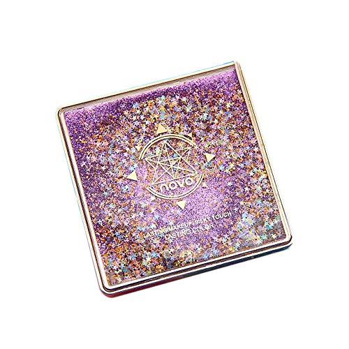 Beisoug 12 Color Flash Arena Fard à Paupières Facial Disc Maquillage pour la cosmétologie de Fard à paupières