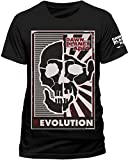 Dawn Of The Planet Of The Apes Herren Dawn of The Planet der Apes-Revolution Poster Short Sleeve T-Shirt Gr. Medium, Sch
