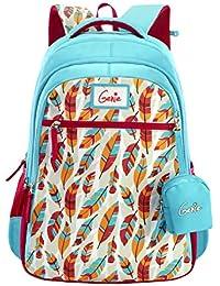 Genie 28 Ltrs Blue Casual Backpack (BLUSH17SBBLU)