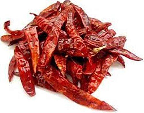Getrocknete rote Chili-Schoten im Ganzen - 100 g