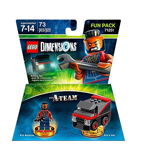 Figurine 'Lego Dimensions' - L'Agence tous risque A-Team - Pack Héros