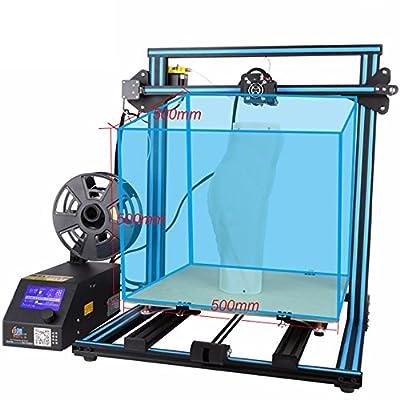 Creality CR-10 Desktop 3D Drucker DIY Kit (500x500x500mm) Hochpräzise Large Druckgröße by Luxnwatts(Ohne Steuern)