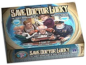 Save Doctor Lucky Board Game
