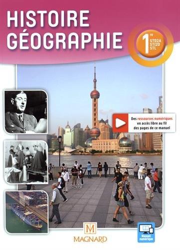 Histoire géographie 1re STD2A STI2D STL